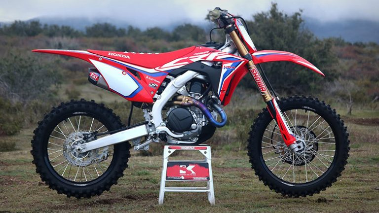 CRF450RWE 2020 Honda Powerful Dirt Bike Review Specs Price