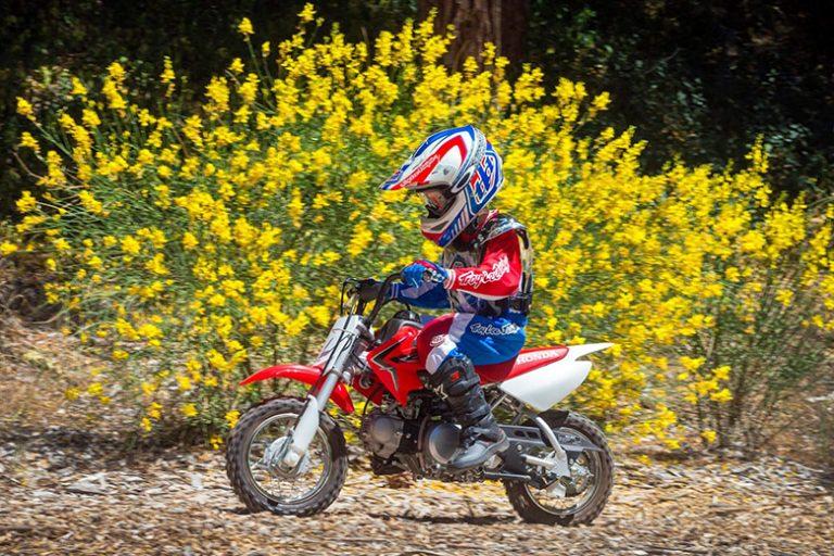 Honda 2020 CRF50F Mini Dirt Motorcycle Review Specs Price