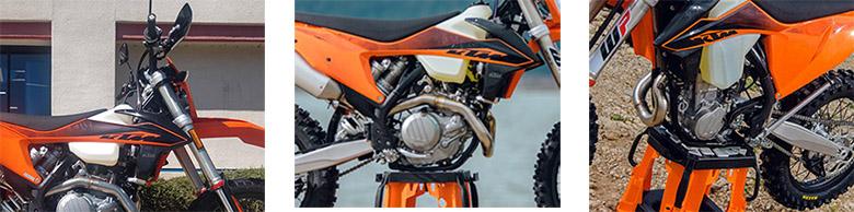 KTM 2020 500 EXC-F Powerful Enduro Off-Roader Specs