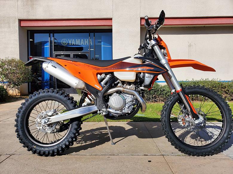 KTM 2020 500 XCF-W Powerful Enduro Motorcycle