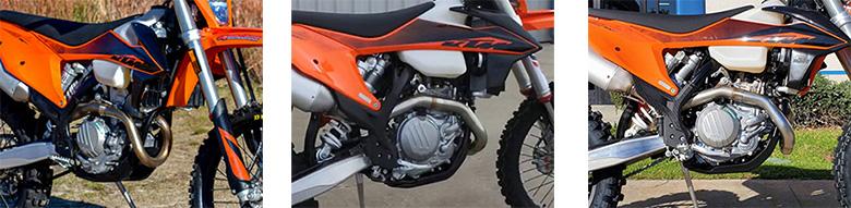 KTM 2020 500 XCF-W Powerful Enduro Motorcycle Specs