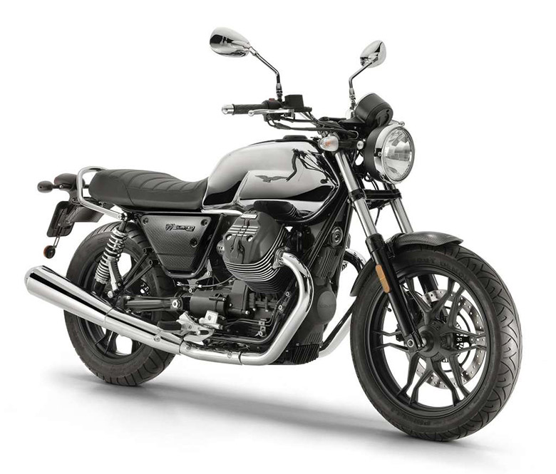 Moto Guzzi 2019 V7 III Carbon Shine Limited Edition Bike