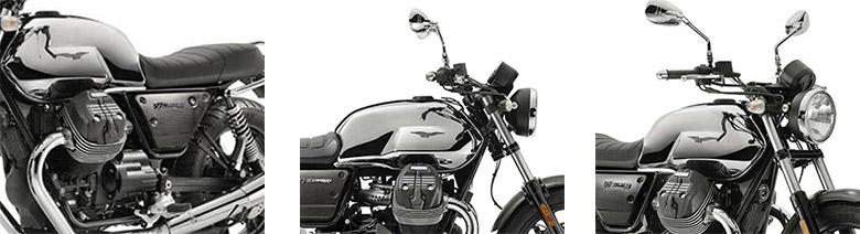 Moto Guzzi 2019 V7 III Carbon Shine Limited Edition Bike Specs