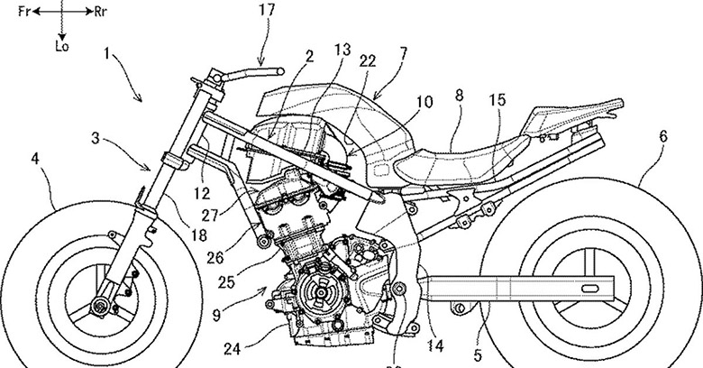 Suzuki is Developing Parallel Twin Engine