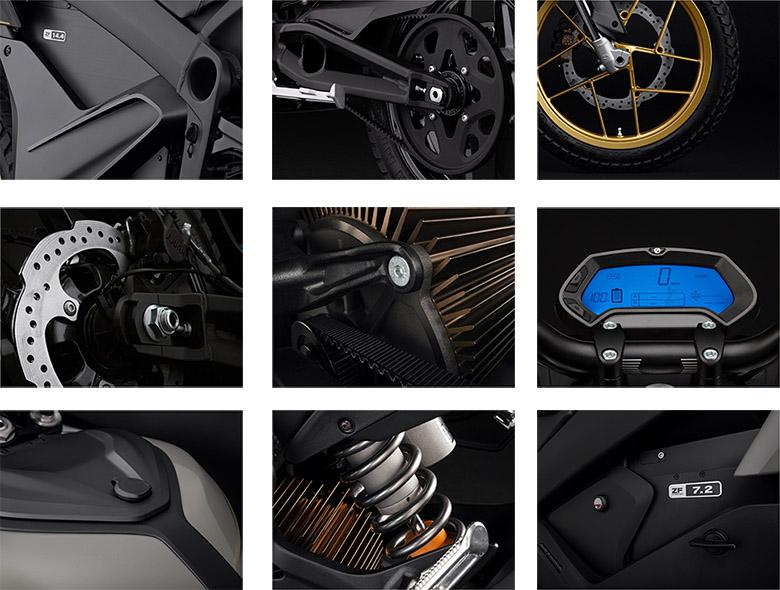 Zero 2020 DSR Electric Bike Specs