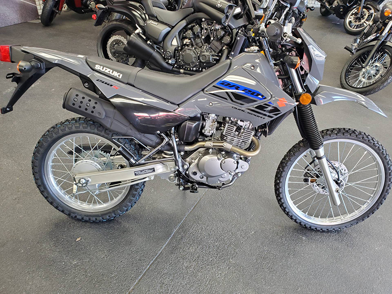 2020 DR200S Suzuki Dual Sports Bike