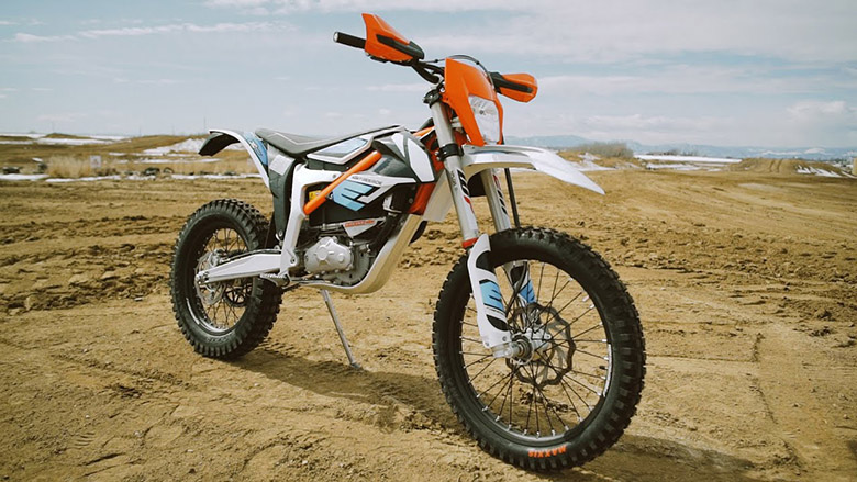 2020 KTM Freeride E-XC Electric Motorcycle