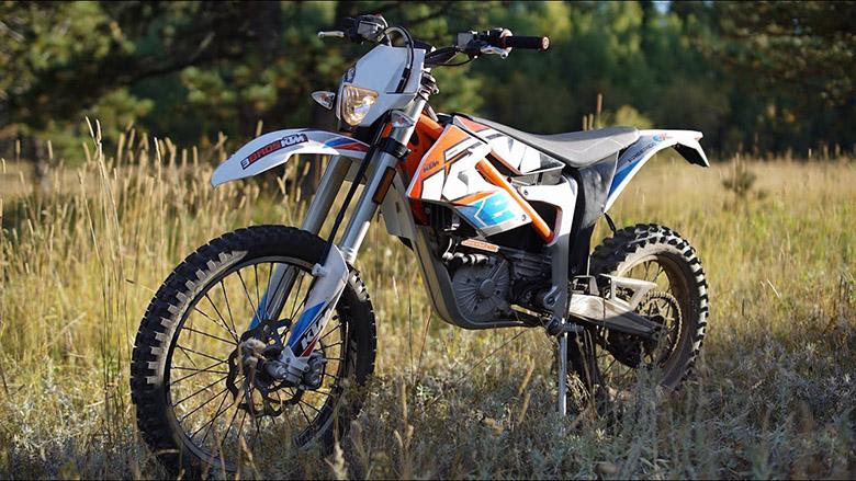 2020 KTM Freeride E-XC Electric Motorcycle