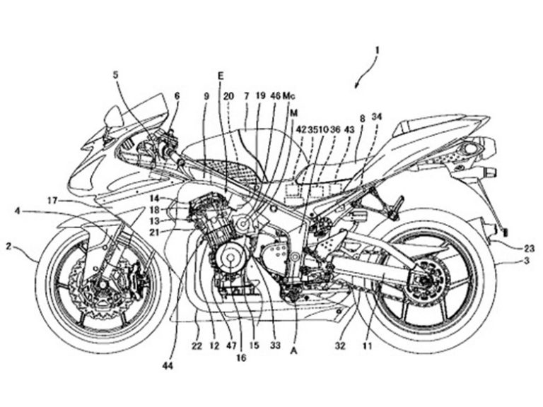 Kawasaki Working on Hybrid Development