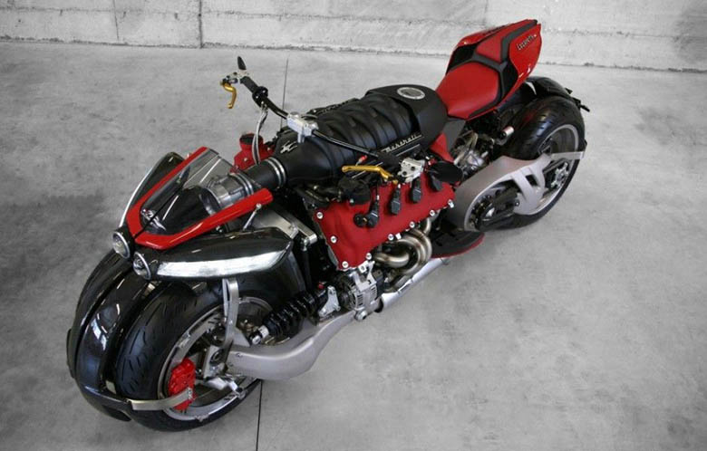 Top Ten Weird Bike Designs in the World