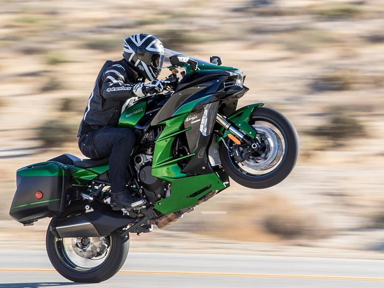 2018 Kawasaki Ninja H2 SX SE Sports Motorcycle