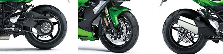 2018 Kawasaki Ninja H2 SX SE Sports Motorcycle Specs