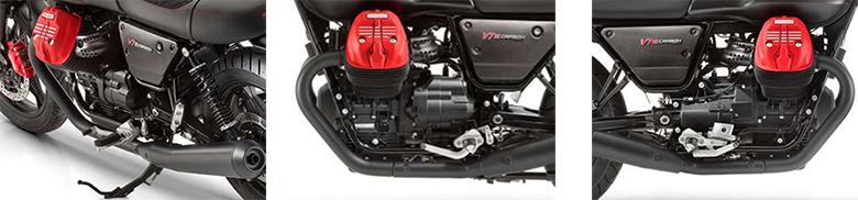 2019 Moto Guzzi V7 III Carbon Dark Heritage Motorcycle Specs