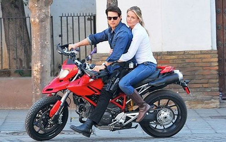 Top Ten Bikes Used by Tom Cruise in Movies