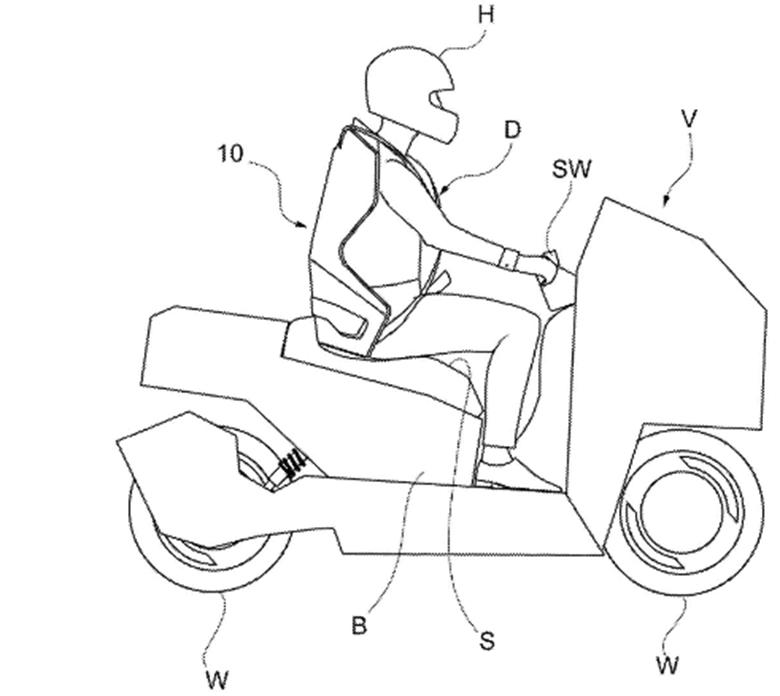 Italdesign Patents Smart Seatbelt Tech for Bikes