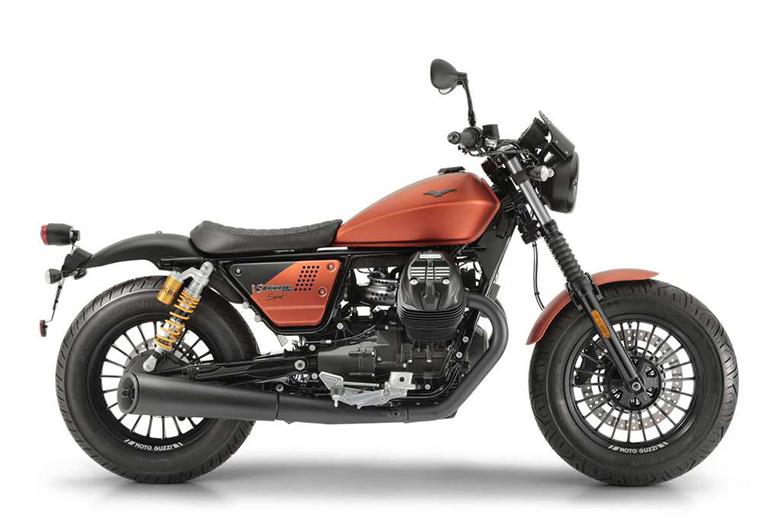 2019 Moto Guzzi V9 Bobber Sport Classic Bike