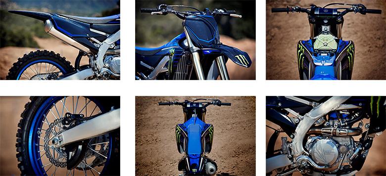 2021 YZ450F Monster Energy Yamaha Racing Edition Specs