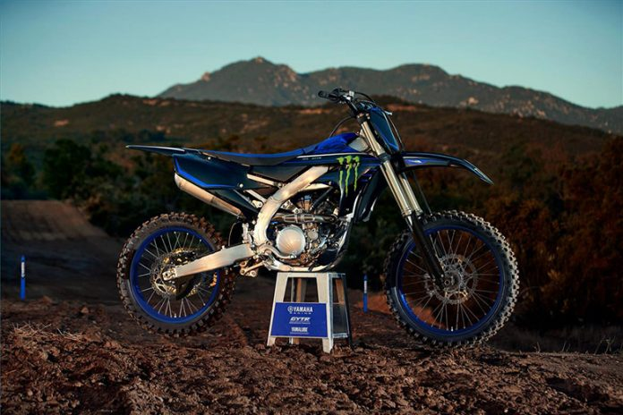 YZ250F 2021 Yamaha Monster Energy Yamaha Racing Edition