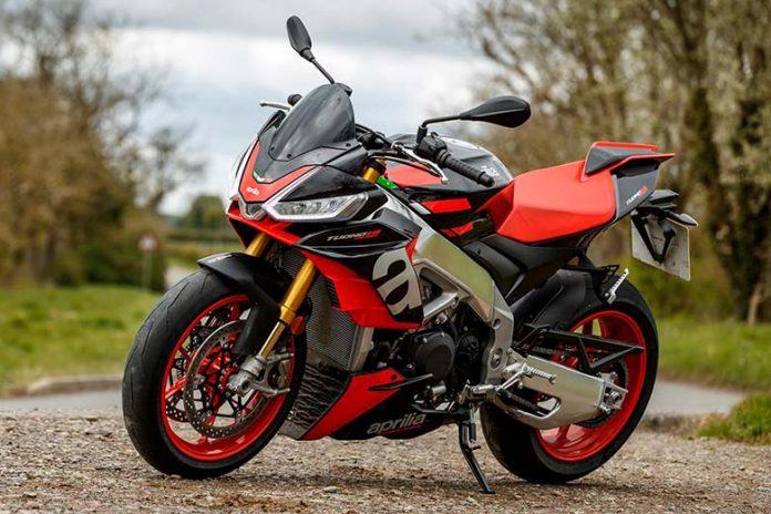 2021 Aprilia Tuono V4 Sports Motorcycle