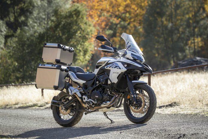 2021 Benelli TRK 502 X Adventure Motorcycle