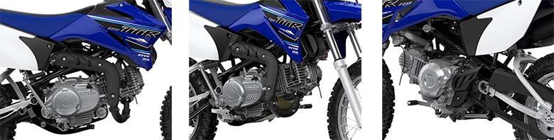 2021 TT-R110E Yamaha Trail Dirt Bike Specs