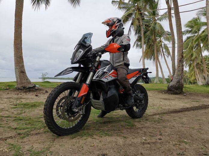 KTM 2020 790 Adventure R Bike