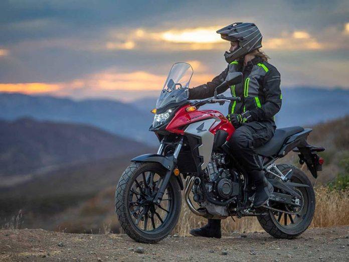 2020 Honda CB500X Adventure Motorcycle
