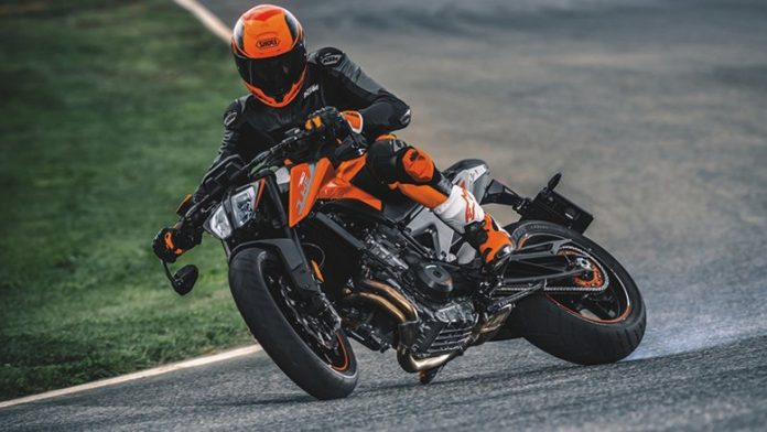 2020 KTM 790 Duke Naked Sports Motorcycle