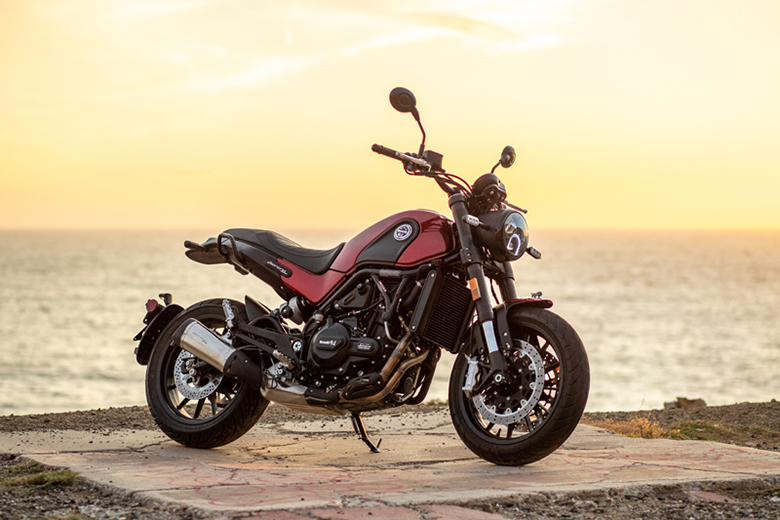 2021 Benelli Leoncino Trail 125 Motorcycle