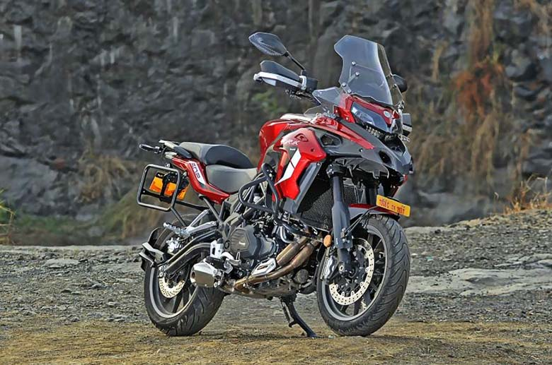 2021 Benelli TRK 502 Adventure Motorcycle