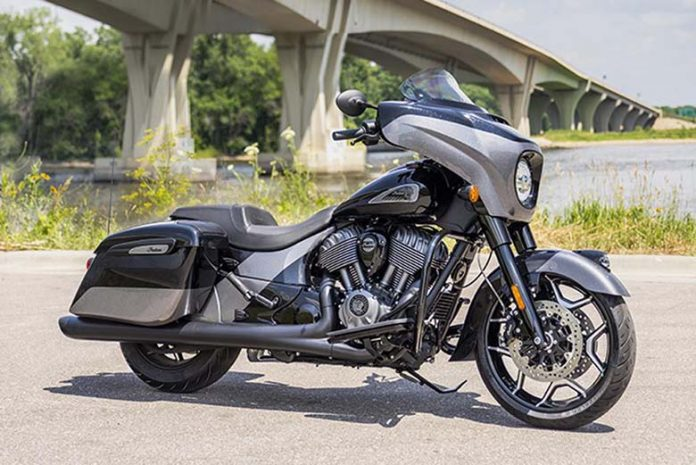 2021 Indian Chieftain Elite Bagger