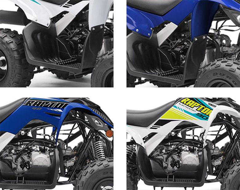 Yamaha 2021 Raptor 90 Sports Quad Bike Specs