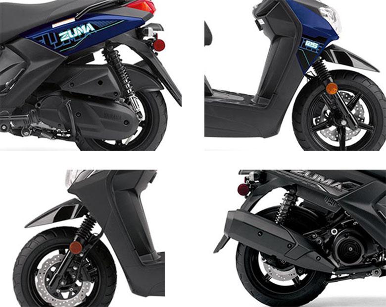 Zuma 125 2021 Yamaha Scooter Specs